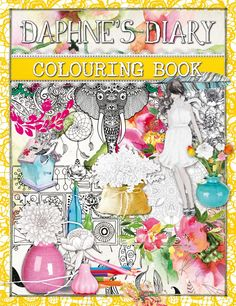 Daphne's Diary Colouring Book