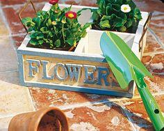 Jardinera con compartimentos: Flower