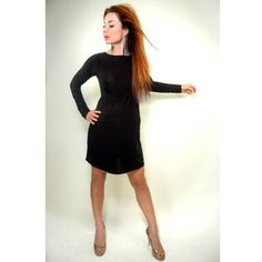 Nicole Maternity Black Boatneck Dress S-2XL.