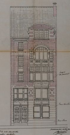 Schaerbeek - Rue Monrose 62-64 - DOOM René