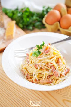 Spagetti Carbonara, National Dish, Spaghetti, Snack Recipes, Snacks, Food And Drink, Dishes, Ethnic Recipes, Impreza