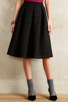Bonded Lace A-Line Skirt - anthropologie.com #anthrofave