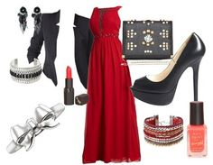 Evening-outfits Winter wedding guest