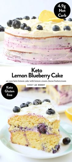KETO LEMON CAKE with Almond Flour Cream cheese frosting faciles gourmet de cocina de postres faciles pasta saludables vegetarianas Lemon Desserts, Low Carb Desserts, Healthy Desserts, Low Carb Cakes, Healthy Drinks, Gluten Free Lemon Cake, Gluten Free Cakes, Lemon Cream Cheese Frosting, Cake With Cream Cheese