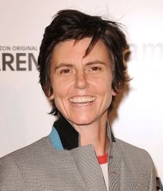 "Of Tig Notaro's shirtless performance at Town Hall, Andrew Marantz writes: ""The image was almost too easy to read as allegory: a comic literally willing to bare it all, her flesh literally scarred."" http://nyr.kr/1xd1siA (Photograph by Jason Laveris/Filmmagic via Getty)"