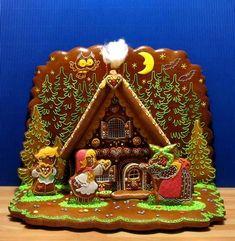 perníková chaloupka, Hansel & Gretel at the witch's house