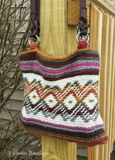 Ravelry: Amazing Bag by Alessandra Hayden