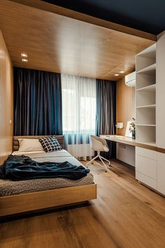 Modern Bedroom Ideas - Seeking the best bedroom decor ideas? Utilize these gorgeous modern bedroom ideas as motivation for your own wonderful designing plan . Minimalism Interior, Apartment Design, Small Room Design, Apartment Interior, Bedroom Interior, Stylish Bedroom, House Interior, Small Room Bedroom, Interior Design Bedroom