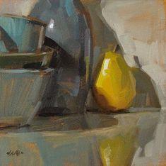 """""""Backstage - SOLD"""" - Original Fine Art for Sale - © Carol Marine"""