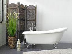 Freistehende #Badewanne Klassisch #Verona mit Füßen wählbar Oval ... | {Freistehende badewanne antik 54}