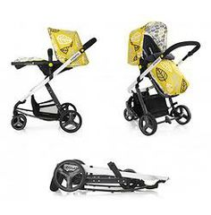Cosatto Giggle 3 in 1 Combi Pushchair - Oaker