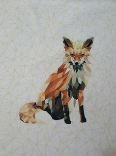 Sweet'N'Charmed Fox panel 95/5 Cotton Lycra Fox, Charmed, Fabric, Prints, Cotton, Painting, Tejido, Tela, Painting Art