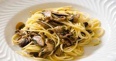 Espaguete com Ragu de Cogumelos (vegana)
