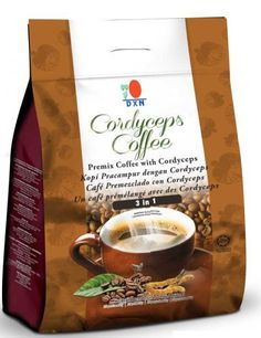 1 Pack DXN Cordyceps Coffee 3 in 1 Premix ( Total : 21 g x 20 sachets ) -- Find out more about the great product at the image link. (This is an affiliate link and I receive a commission for the sales) Nigella Sativa, Instant Coffee, Gourmet Recipes, Packing, Tableware, 3, Food, Sachets, Buy 1