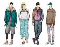 Fashion Illustrator Mengjie Di: New work for Stylesight 2013 F/W Marvel