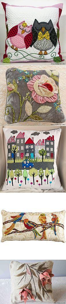 Обалденные подушки. Вдохновляемся)))