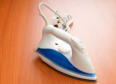 How to iron away problems from vinyl floors