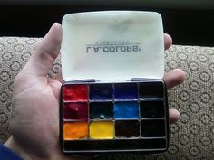 Picture of Travel Watercolor Palette (eye shadow box)