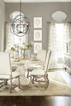 100 Dining Room Decoration Ideas | Shutterfly. See our all-white dining room