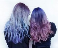 Find images and videos about hair, beauty and blue on We Heart It - the app to get lost in what you love. Pelo Multicolor, Color Fantasia, Coloured Hair, Dye My Hair, Grunge Hair, Crazy Hair, Bad Hair, Purple Hair, Ombre Hair