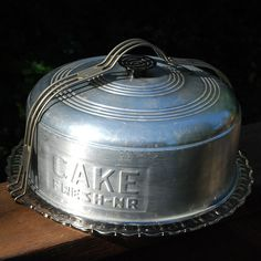 vintage cake carrier - Google Search