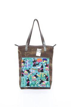 One of a kind HMONG Hill Tribe Fabric Handbag. #ethniclanna