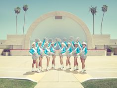 """Festival de la jeune photographie européenne """"The Sun City Poms"""" ANTONY Todd Cheer Poses, End Of The Age, American Photo, Famous Photographers, Expositions, Artists Like, Musical, Picture Wall, Cheerleading"""
