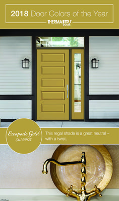This Regal Shade Is A Great Neutral With Twist 2018 Therma Tru