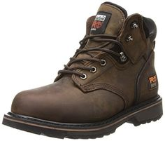 "Timberland PRO Men's Pitboss 6"" Steel-Toe Boot,Brown/Brown,10.5 M Timberland PRO http://www.amazon.com/dp/B000XF0RL4/ref=cm_sw_r_pi_dp_wr1pwb0ETV2DE"