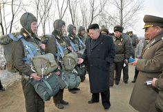 Kim Jong Un inspects North Korean army unit - PhotoBlog