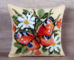 Check out this item in my Etsy shop https://www.etsy.com/listing/271705346/summer-cross-stitch-butterfly-camomile