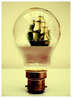 """A Seaside Melody"" , made by: Gypsyflare  - (Lightbulb)"