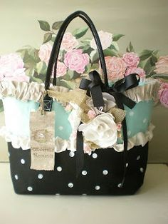 Cinderella Moments: Shabby Chic Totes and Bags!