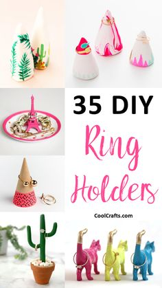 Showcase Your Rings With These 35 Stylish DIY Ring Holders - CoolCrafts.com