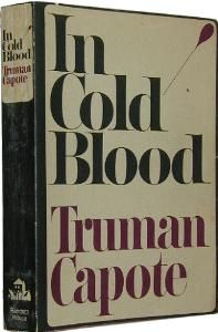 Almost finished In Cold Blood (for the first time).