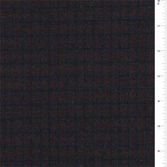 Navy Multi Wool Jacketing - 40062X - Discount Fabrics