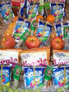 Delightful Order: Organizing Children's School Lunches