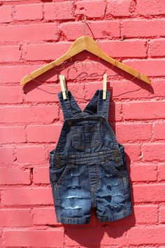 Baby Overalls 12 Months Baby Denim Overalls Distressed Jeans Baby Jean Overalls Toddler Jeans Custom Overalls Jean Overalls Baby Jeans by RunnergirlCreations on Etsy