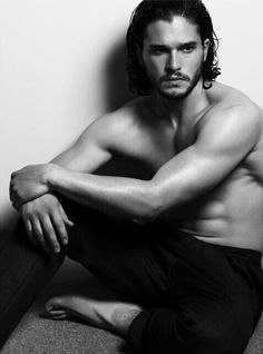 Game of Thrones ~ Kit Harington<-- what is it with beautiful British actors and gorgeous curls?