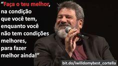 (Link original do vídeo: https://youtu.be/pzlDPLnuHCU)  #reflexões, #cortella, #facaoseumelhor, #mediocridade, #mariosergiocortella, #english