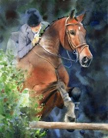 """Equine Art  www.goldenrabbitsaddlery.com  For 50% off, use coupon code """"ThankYou"""" at check out!"""