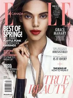 Grace Mahary Covers 'ELLE Canada'