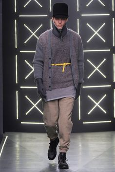 Robert Geller Fall 2014 Menswear Fashion Show