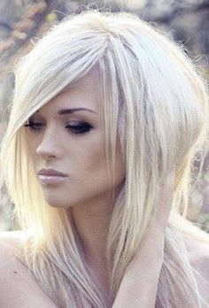 edgy hairstyles for long hair with bangs