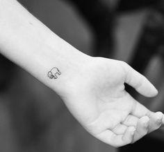 30 Adorable Tiny Elephant Tattoo Elephant Elephant Tattoos