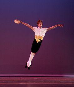 Trevor Felixbrod in Tarantella Choreography by George Balanchine © The Balanchine Trust photo by Melissa Dooley