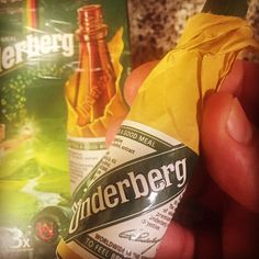 After a good meal #Underberg