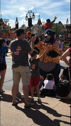 Disney family shirts - American flag Mickey