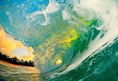 Swim under a wave. [ Waterbabiesbikini.com ] #wave #bikini #elegance