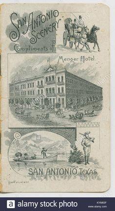 Menger Hotel, Southern Methodist University, San Antonio, Compliments, The Creator, Vintage World Maps, Scenery, Texas, Stock Photos